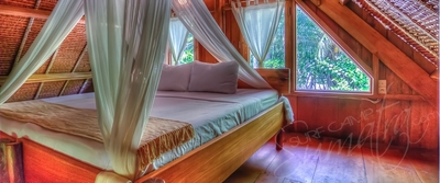 Private uma bungalow