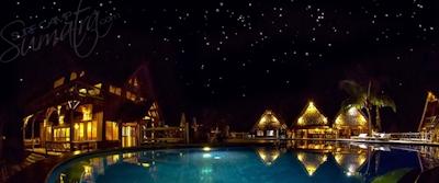 Night life at Kandui Villas