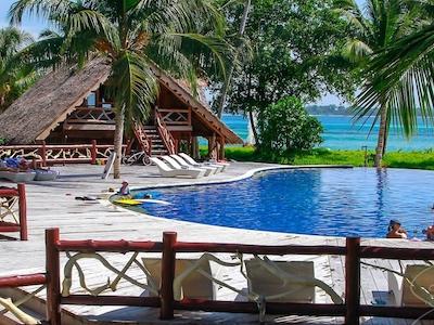 Poolside at Kandui Villas