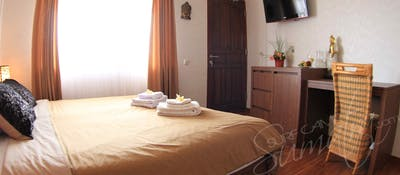 Double room at Macaronis Resort
