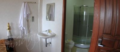 private ensuite bathroom in each room