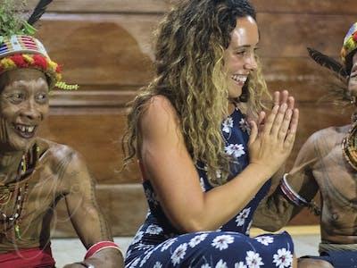 Mentawai shaman ceremony