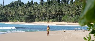 The beach at Matungou