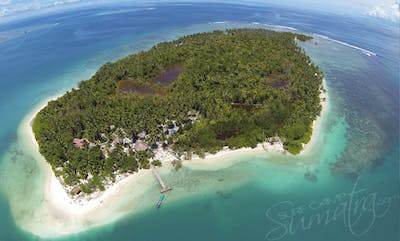 Your private island from above