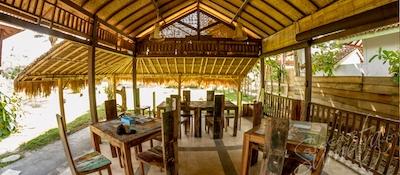 Open plan restaurant