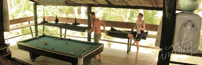 Theres always a pool comp each trip so bring your game