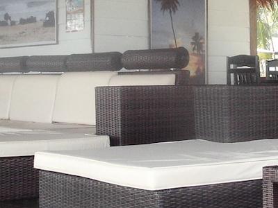 Lounge area at Salt Resort