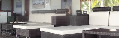 Lounge area at Salt Resort