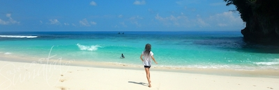 Pulau teupah is about 40 mins from the surf camp
