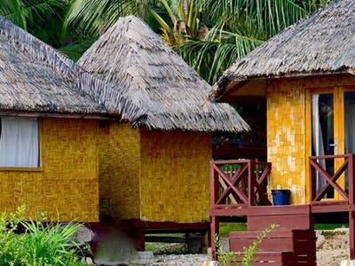 The bungalows at SSL