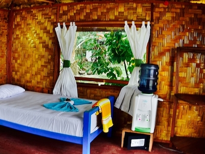 Interior twin share bungalow