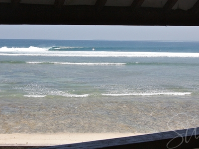 Views from the upper deck of Ujung Bocur