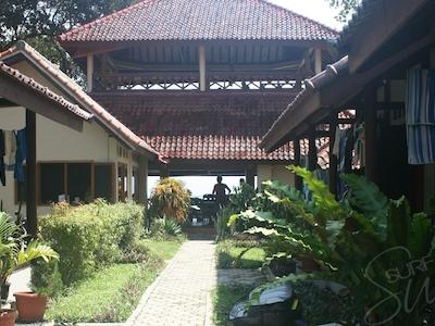 Bali style bungalows