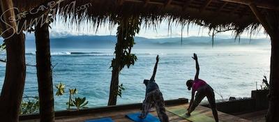 Yoga deck at BeOcean