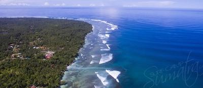 The Krui coast