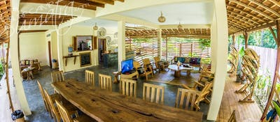 Restaurant and lounge area at BeOcean