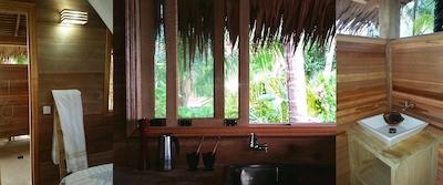 Private bungalow interior