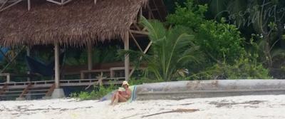 Beach life at Awera