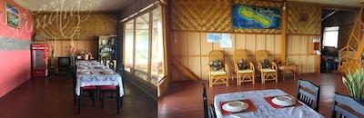 Interior at the main house