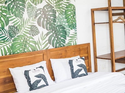 Double room at Cabana Surf and Stay