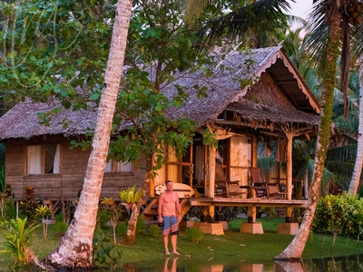 Enjoy the sunset from your bungalow