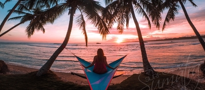 Panoramic sunset views at Kingfisher Resort