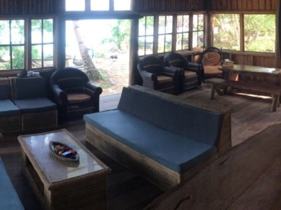 Main social area includes free wifi and TV