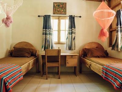 KSC twin room