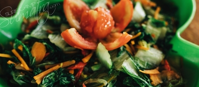 Healthy and plentiful food