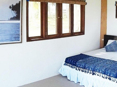 Double bed in each bungalow
