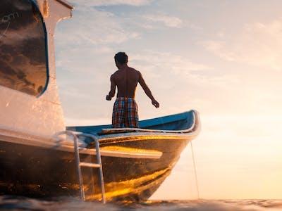 Awera Resort speedboat