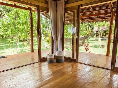 Plenty of space in the jungle villas
