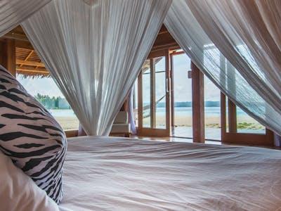 Beach villa ocean view