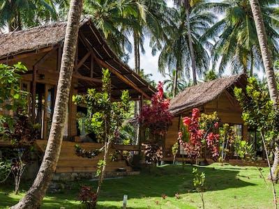 Jungle villas and Awera gardens