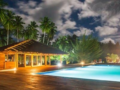 Night time at Awera Resort