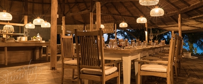 Aloita Resorts main dining room