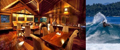 Dining at Kandui Resort