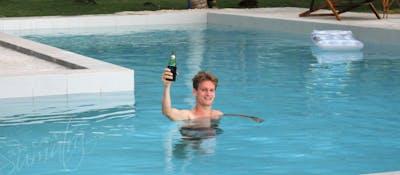 Its always beer oclock at Sumatra Surf Resort