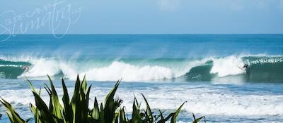 Mandiri Beach is just 10 or 15 minutes drive away
