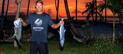 Fishing trips included in the daily package