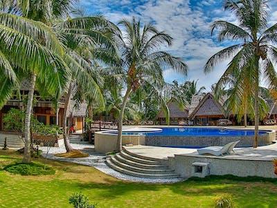 Kandui Villas gardens