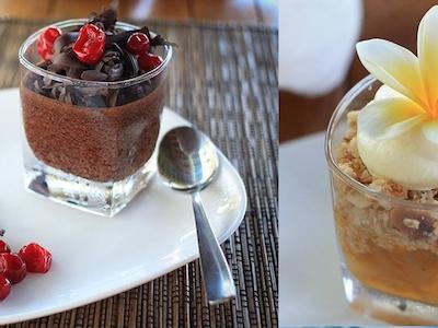 Dessert macas style