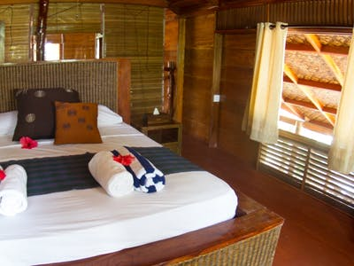 Double room at villa mentawai