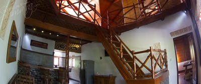 Large open plan interior