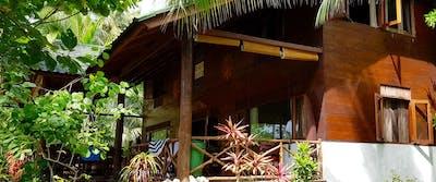Exterior villa mentawai