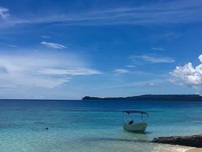 Your private beach at villa mentawai