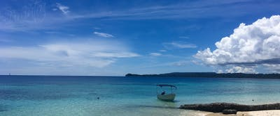 Your private beach at villa mentawai