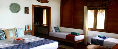 Private a/c accommodation with private bathroom
