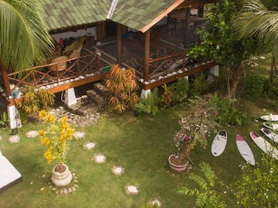 Villa mentawai and gardens