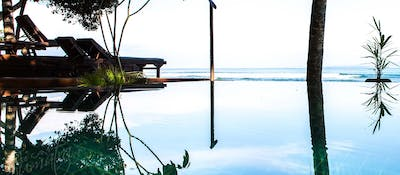 Infinity pool at BeOcean